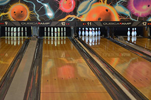 Cape Cod candlepin and ten pin bowling lanes
