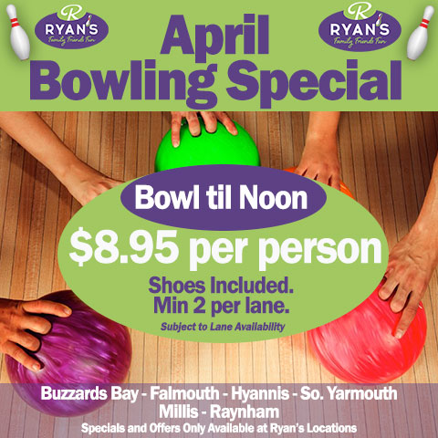 Cape Cod Bowling Special