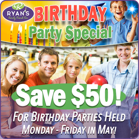 MAY 2021 BIRTHDAY PARTY SPECIAL