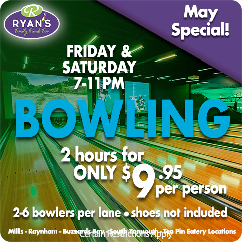 MAY 2021 FRI-SAT BOWLING 2 HOURS